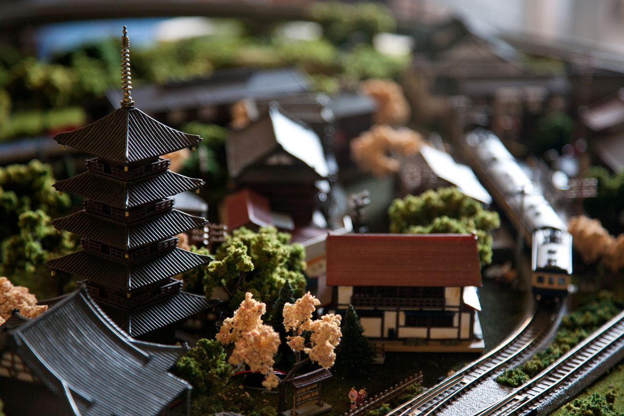 easy wiring kits for cars jrm a japanese layout using bandai shorty trains part 2