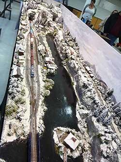 Jrm Shinzo Mizu A Japanese Z Scale Snow Scene